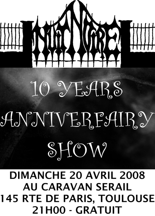 Nuit Noire 20 April Flyer