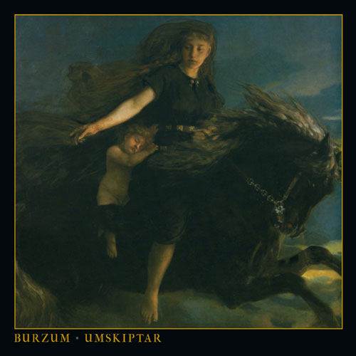 Burzum - Umskiptar (Cover Design Artwork)