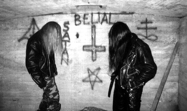Satanic Warmaster Early Band Photo