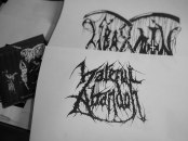 Hateful Abandon Original Logo Sketches