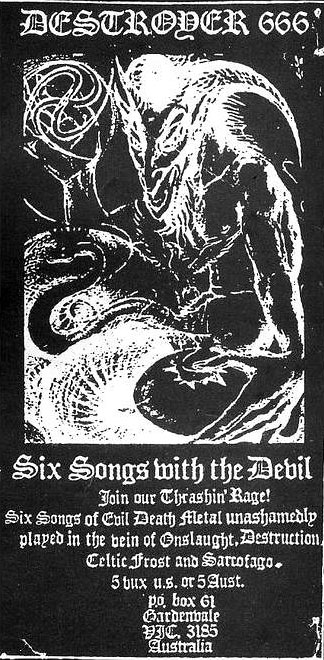 destroyer-666-six-songs-flyer