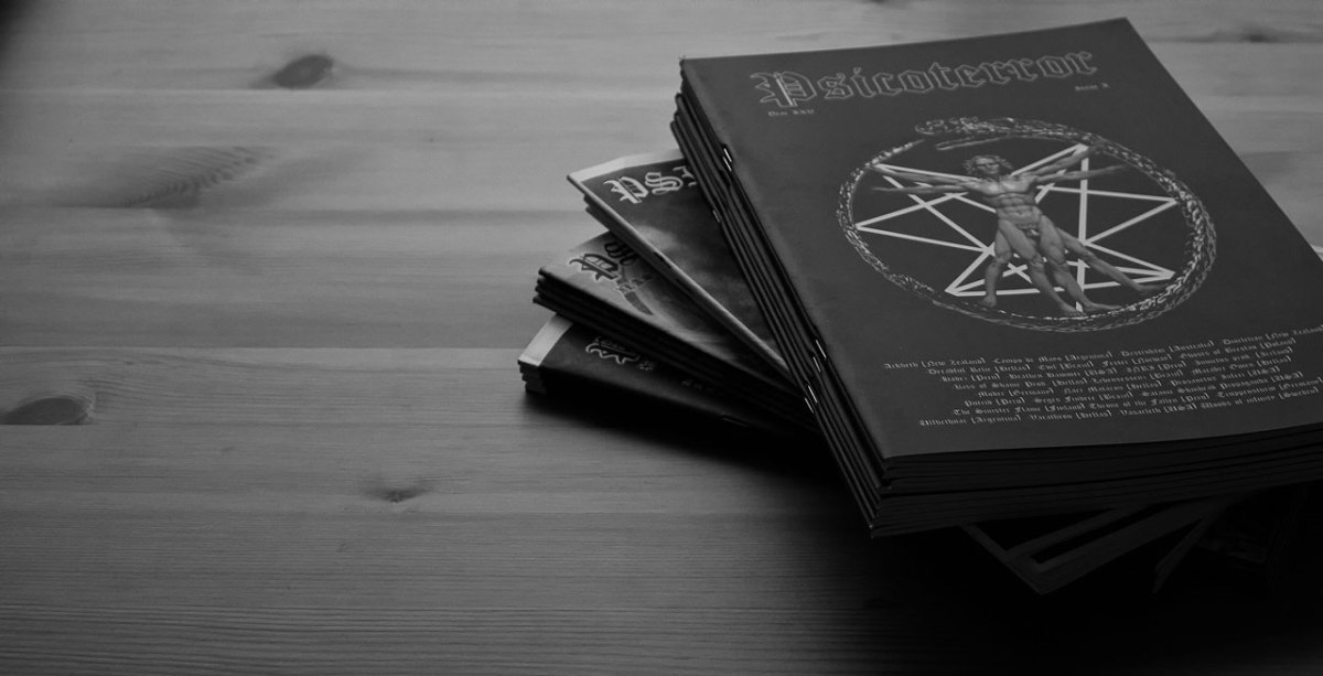 Psicoterror returns! Peruvian Black Metal Zine All Issues 2002-2016